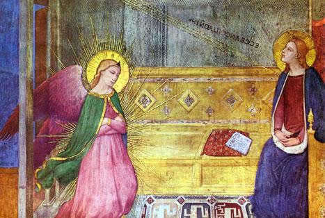 Leben und Spiritualität der hl. Sieben Väter, Gründer des Servitenordens Verkuendigung-Florenz